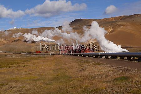 iceland krafla geothermal plant
