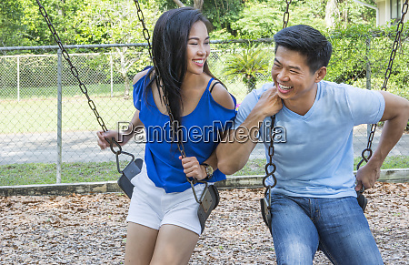vietnamese american couple dating at playground