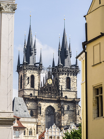 czech republic prague tyn church founded