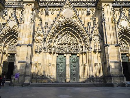 czech republic prague st vitus cathedral