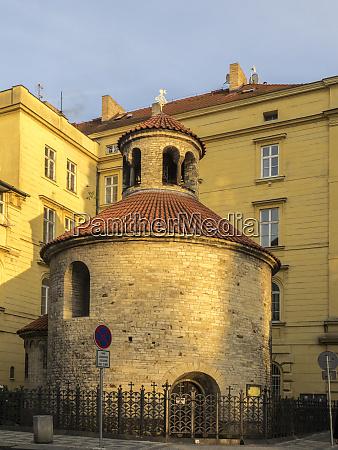 czech republic prague rotunda of the