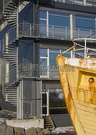 museum ship in the viking maritime