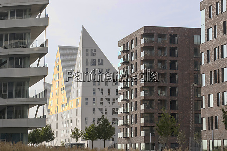 these buildings represent the newest architecture
