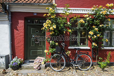 ancient houses in ribe denmarks oldest