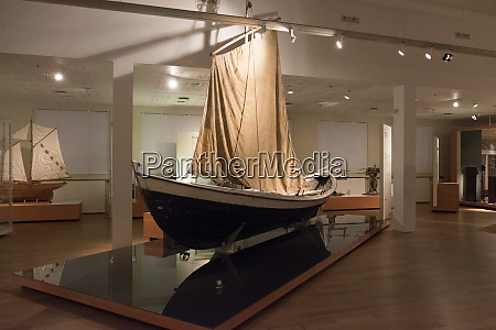 sailing vessel in the national museum