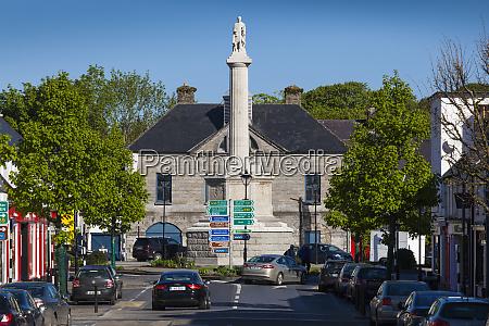 ireland county mayo westport octagon obelisk