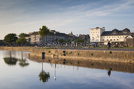 ireland county galway galway city river