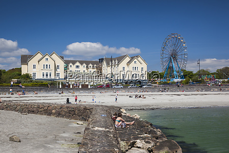 ireland, , county, galway, , galway-salthill, , beach, front - 27879219