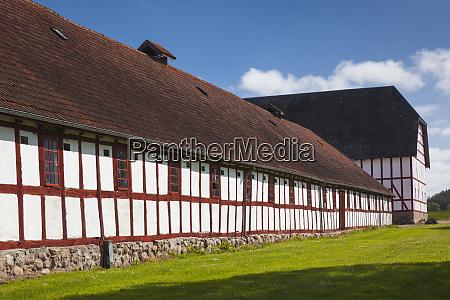 denmark funen svendborg buildings of the
