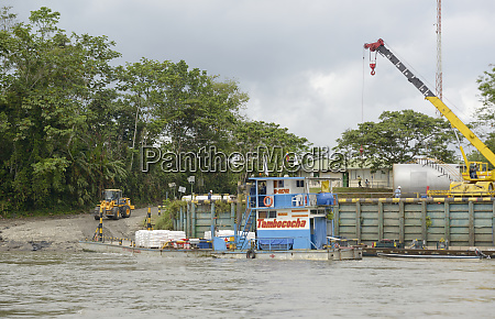 ecuador orellana napo river oil exploration