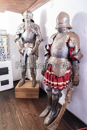 bran romania interior castle bran suits