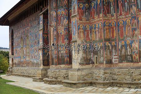 romania bukovina moldovita renowned for painted
