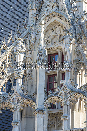 palace of justice rouen normandy france