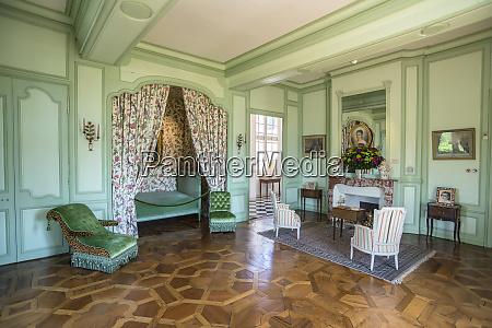 bedroom chateau de villandry loire valley