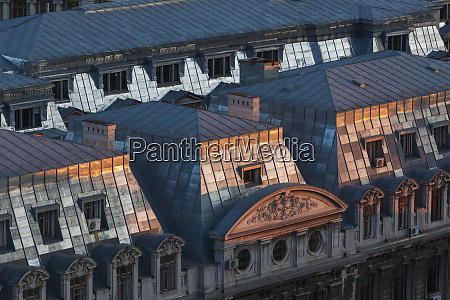 romania bucharest lipscani old town building