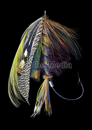 atlantic salmon fly designs blacker ghost