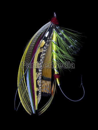 atlantic salmon fly designs green doctor