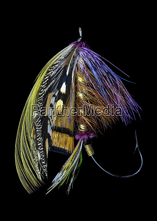 atlantic, salmon, fly, designs, 'blacker, unknown' - 27887989