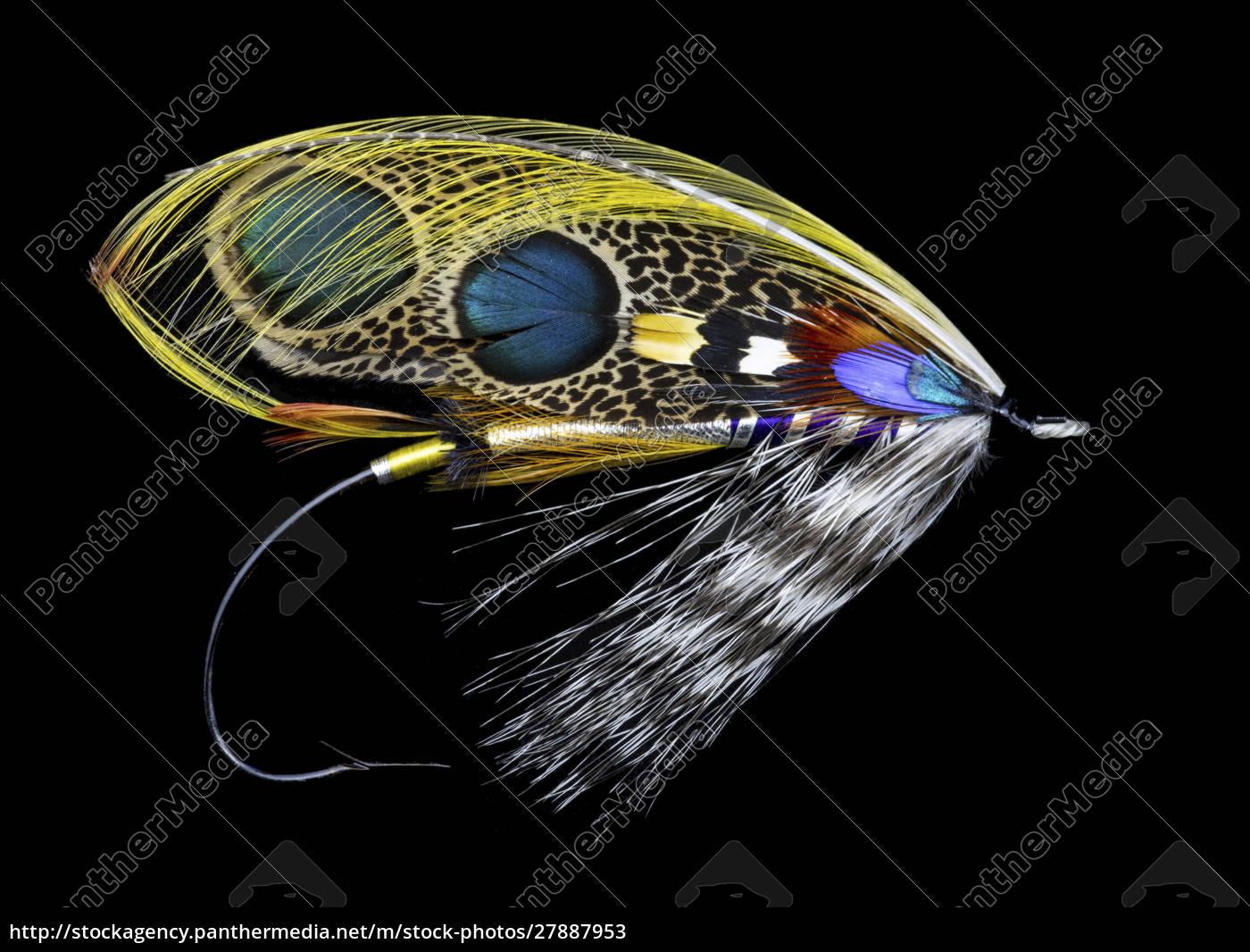 atlantic, salmon, fly, designs, 'double, leopard' - 27887953