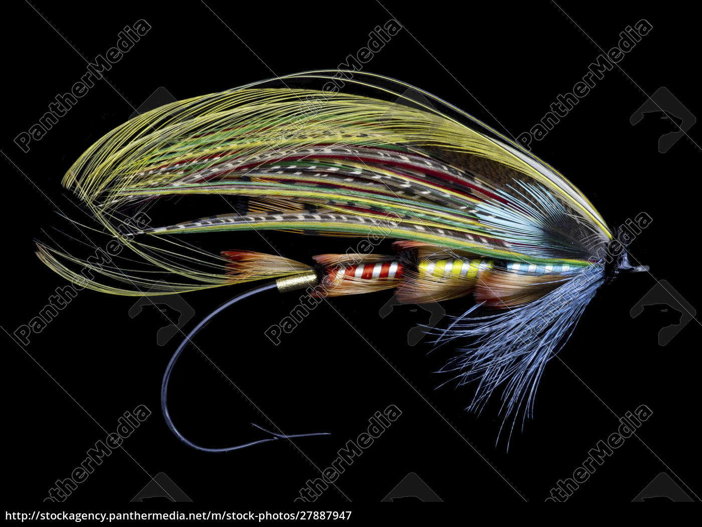 atlantic, salmon, fly, designs, 'popham' - 27887947