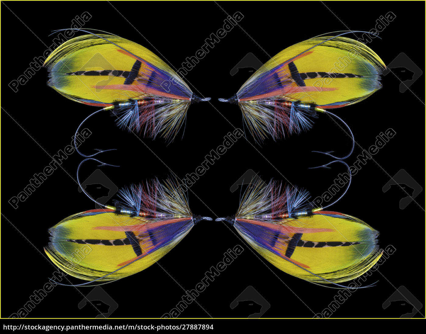 atlantic, salmon, fly, designs, 'shannon' - 27887894