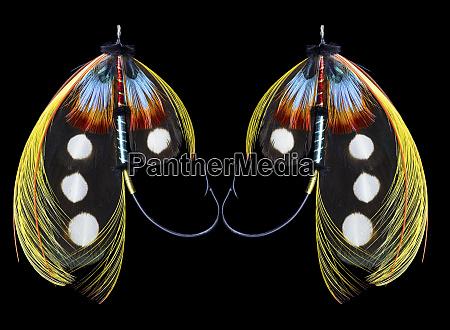 atlantic, salmon, fly, designs, 'western, illusion' - 27887928