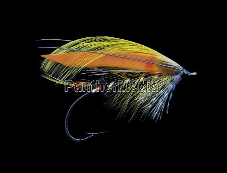 atlantic, salmon, fly, designs, 'black, goldfinch' - 27888066