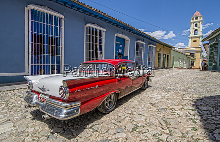 trinidad cuba old colonial city in
