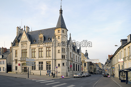 france burgundy nievre nevers place carnot