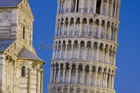 italy pisa close up of leaning