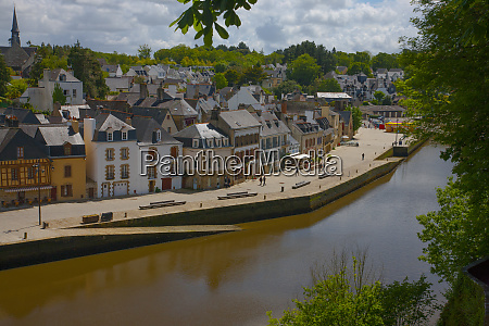 viewed from across the river auray