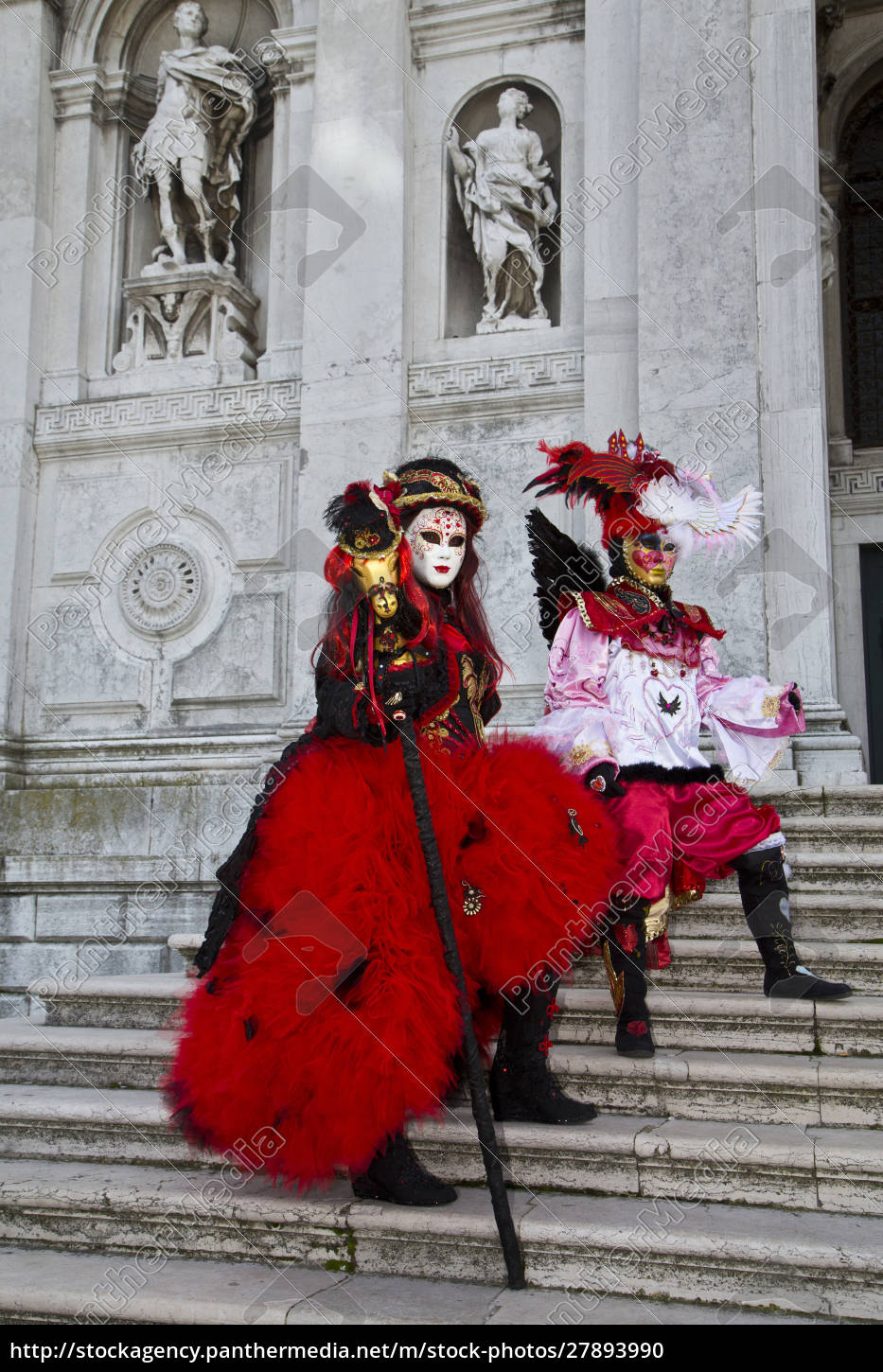 venice, , italy., mask, and, costumes, at - 27893990