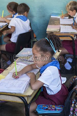 cuba trinidad young children study in