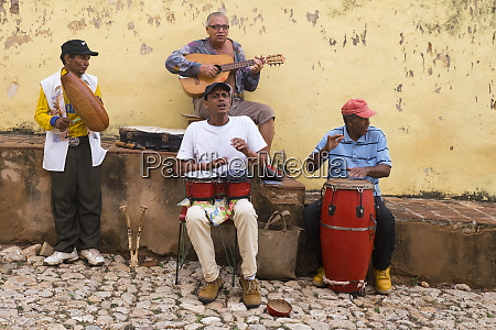 cuba trinidad a group of musicians