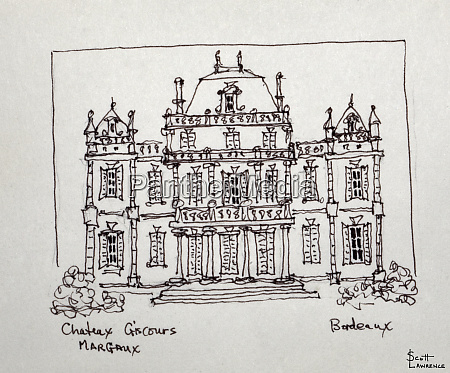 chateau giscours in bordeaux france is