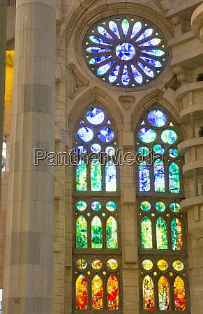 barcelona spain le sagrada familia church