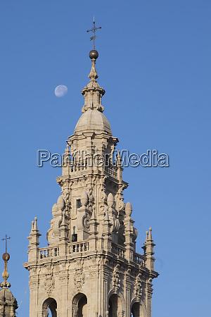 spain santiago de compostela pilgrimage cathedral