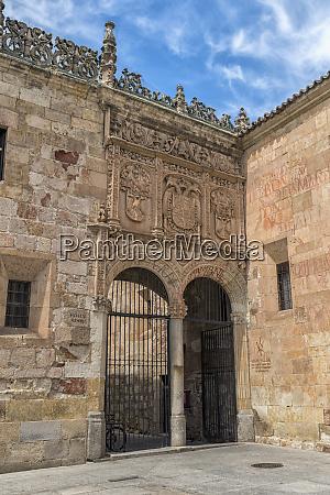 spain salamanca courtyard of the clergy