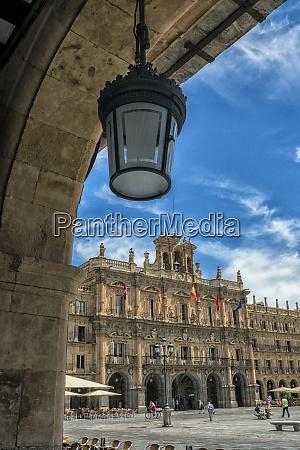 spain salamanca plaza mayor