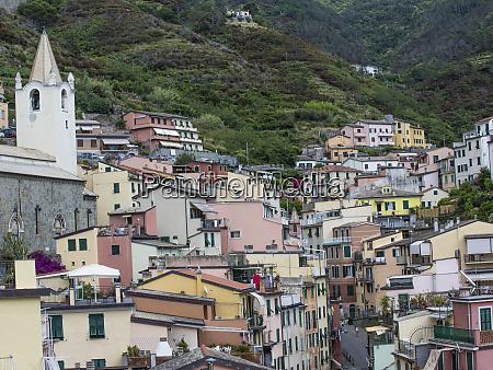italian scenic cityscape