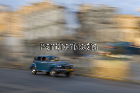 artistic blurred image of a classic