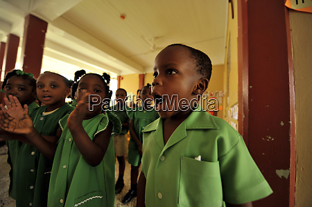dominica roseau preschool social center boy