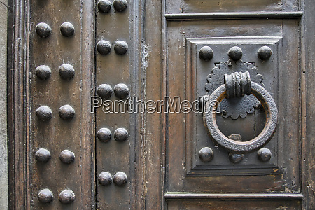 italy florence door knocker