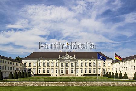 berlin germany facade of bellevue palace