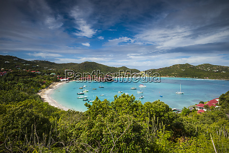 french west indies st barthelemy baie