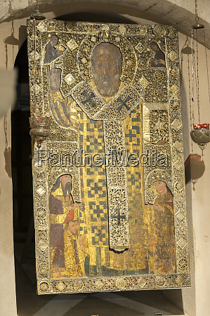 st nicholas icon basilica of saint