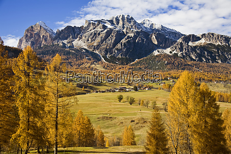 italy northern mountains and meadows