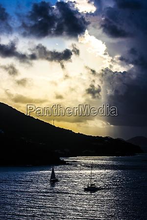 st lucia caribbean the sun breaks
