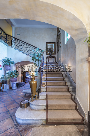 mexico jalisco guadalajara hotel staircase large