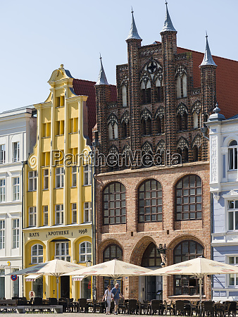 wulflamhaus a medieval building at the